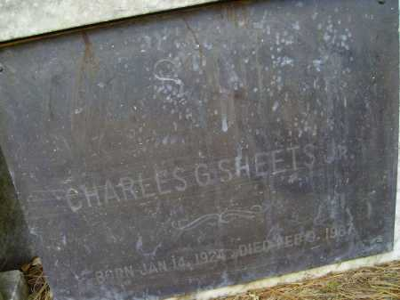 SHEETS, CHARLES G. JR - CLOSEVIEW - Meigs County, Ohio | CHARLES G. JR - CLOSEVIEW SHEETS - Ohio Gravestone Photos