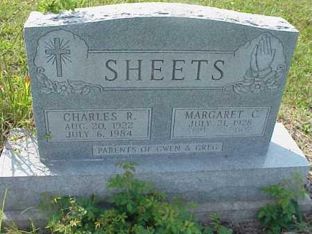 SHEETS, CHARLES R. - Meigs County, Ohio   CHARLES R. SHEETS - Ohio Gravestone Photos