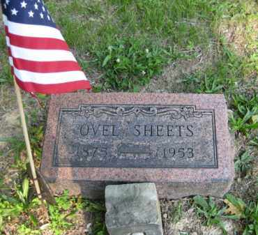 SHEETS, OVEL - Meigs County, Ohio | OVEL SHEETS - Ohio Gravestone Photos