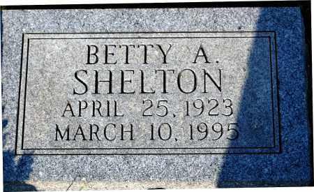 SHELTON, BETTY A. - Meigs County, Ohio | BETTY A. SHELTON - Ohio Gravestone Photos