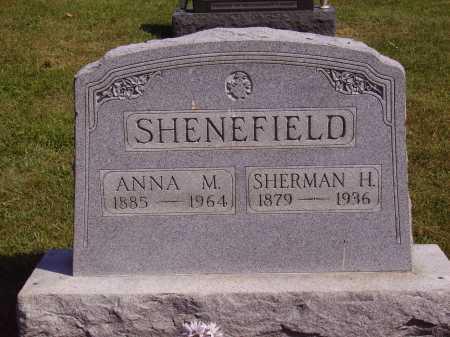 DAYTON SHENEFIELD, ANNA M. - Meigs County, Ohio | ANNA M. DAYTON SHENEFIELD - Ohio Gravestone Photos