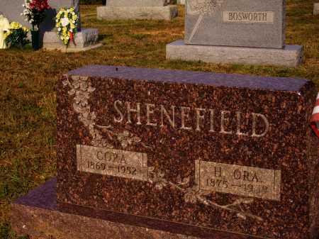 SHENEFIELD, CORA - Meigs County, Ohio | CORA SHENEFIELD - Ohio Gravestone Photos