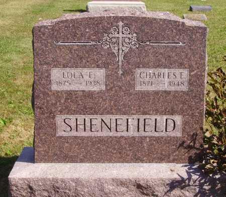 SHENEFIELD, CHARLES E. - Meigs County, Ohio | CHARLES E. SHENEFIELD - Ohio Gravestone Photos