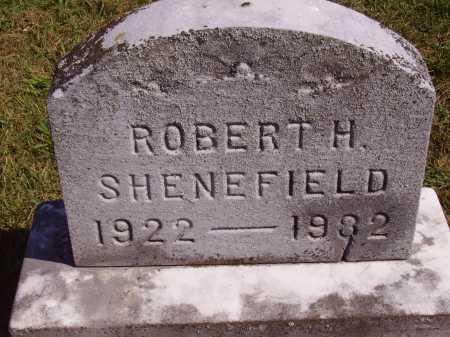 SHENEFIELD, ROBERT H. - Meigs County, Ohio   ROBERT H. SHENEFIELD - Ohio Gravestone Photos