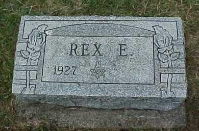 SHENEFIELD, REX E. - Meigs County, Ohio | REX E. SHENEFIELD - Ohio Gravestone Photos