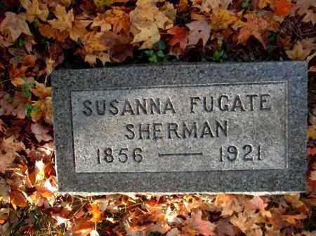 FUGATE SHERMAN, SUSANNA - Meigs County, Ohio | SUSANNA FUGATE SHERMAN - Ohio Gravestone Photos