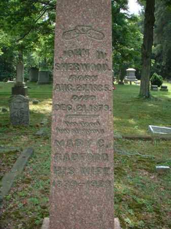 SHERWOOD, JOHN W. - Meigs County, Ohio | JOHN W. SHERWOOD - Ohio Gravestone Photos