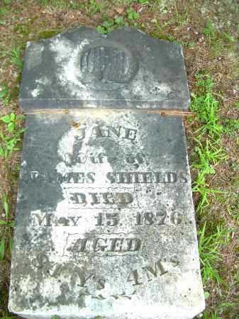 SHIELDS, JANE - Meigs County, Ohio | JANE SHIELDS - Ohio Gravestone Photos