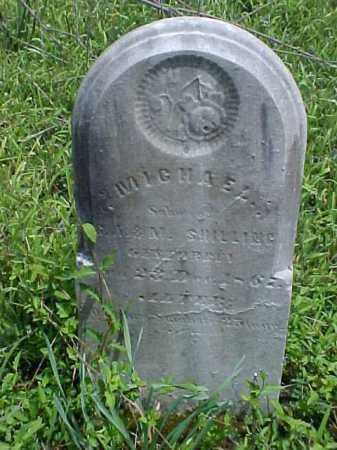 SHILLING, MICHAEL - Meigs County, Ohio | MICHAEL SHILLING - Ohio Gravestone Photos