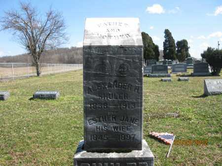 SHULER, ALEXANDER H - Meigs County, Ohio | ALEXANDER H SHULER - Ohio Gravestone Photos
