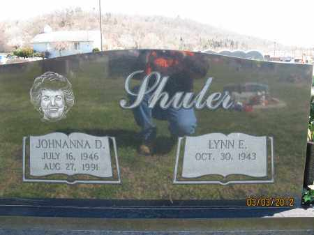 SHULER, JOHNANNA D - Meigs County, Ohio | JOHNANNA D SHULER - Ohio Gravestone Photos