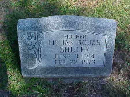 ROUSH SHULER, LILLIAN - Meigs County, Ohio | LILLIAN ROUSH SHULER - Ohio Gravestone Photos