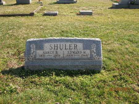 SHULER, NANCY B - Meigs County, Ohio | NANCY B SHULER - Ohio Gravestone Photos