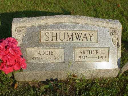 SHUMWAY, ARTHUR LAWRENCE - Meigs County, Ohio | ARTHUR LAWRENCE SHUMWAY - Ohio Gravestone Photos