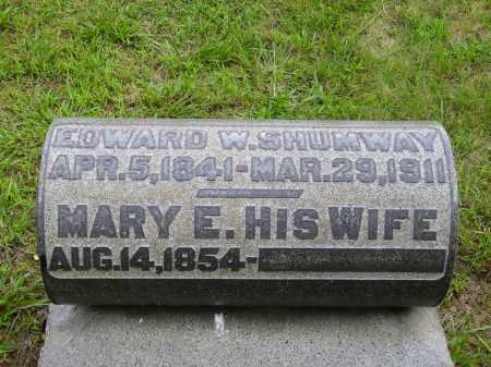SWEARINGERS SHUMWAY, MARY E. - Meigs County, Ohio | MARY E. SWEARINGERS SHUMWAY - Ohio Gravestone Photos