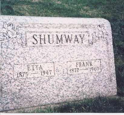 SHUMWAY, FRANK - Meigs County, Ohio   FRANK SHUMWAY - Ohio Gravestone Photos