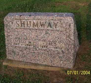 SHUMWAY, ESTELLE - Meigs County, Ohio   ESTELLE SHUMWAY - Ohio Gravestone Photos