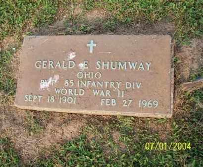 SHUMWAY, GERALD - Meigs County, Ohio   GERALD SHUMWAY - Ohio Gravestone Photos