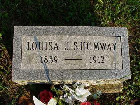 BEATEY SHUMWAY, LOUISA JANE - Meigs County, Ohio | LOUISA JANE BEATEY SHUMWAY - Ohio Gravestone Photos