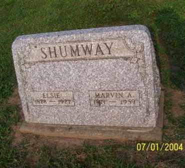 SHUMWAY, MARVIN - Meigs County, Ohio | MARVIN SHUMWAY - Ohio Gravestone Photos