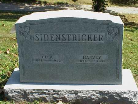 SIDENSTRICKER, ELLA M. - Meigs County, Ohio | ELLA M. SIDENSTRICKER - Ohio Gravestone Photos