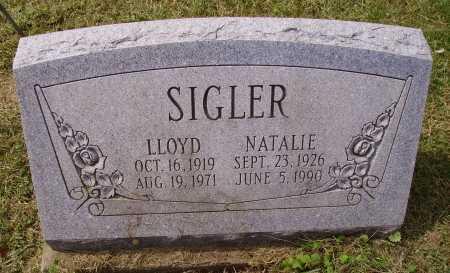 SIGLER, NATALIE - Meigs County, Ohio | NATALIE SIGLER - Ohio Gravestone Photos