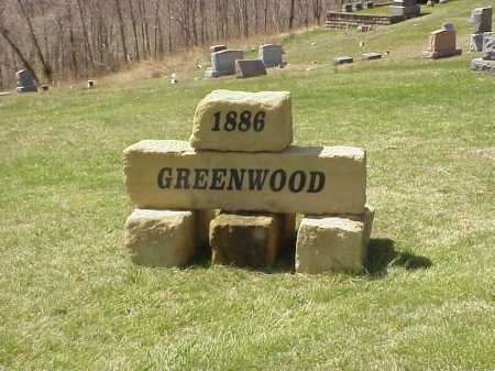 GREENWOOD CEMETERY, SIGN - Meigs County, Ohio | SIGN GREENWOOD CEMETERY - Ohio Gravestone Photos