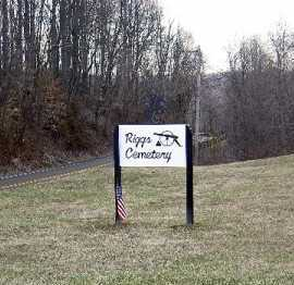 RIGGS, SIGN - Meigs County, Ohio | SIGN RIGGS - Ohio Gravestone Photos