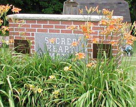 SACRED HEART CEMETERY, SIGN - Meigs County, Ohio | SIGN SACRED HEART CEMETERY - Ohio Gravestone Photos