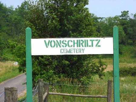 VONSHRILTZ CEMETERY, SIGN - Meigs County, Ohio | SIGN VONSHRILTZ CEMETERY - Ohio Gravestone Photos