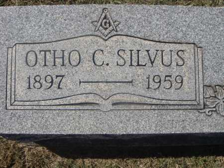 SILVUS, OTHO C. - CLOSE VIEW - Meigs County, Ohio | OTHO C. - CLOSE VIEW SILVUS - Ohio Gravestone Photos