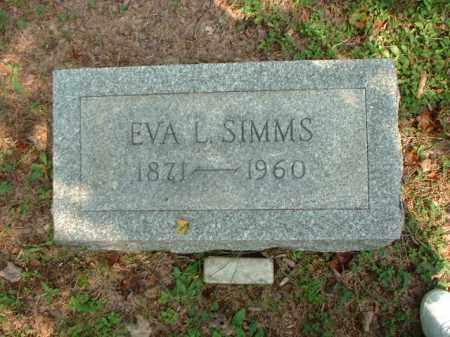 SIMMS, EVA L. - Meigs County, Ohio | EVA L. SIMMS - Ohio Gravestone Photos