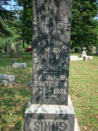 SIMMS, JONATHON - Meigs County, Ohio | JONATHON SIMMS - Ohio Gravestone Photos
