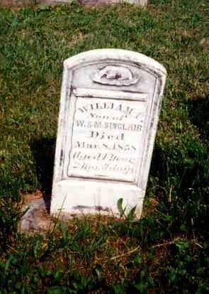 SINCLAIR, WILLIAM F. - Meigs County, Ohio | WILLIAM F. SINCLAIR - Ohio Gravestone Photos