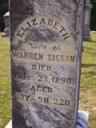 SISSON, ELIZABETH - CLOSEVIEW - Meigs County, Ohio | ELIZABETH - CLOSEVIEW SISSON - Ohio Gravestone Photos