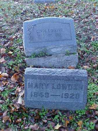 LOWDEN, MARY - Meigs County, Ohio | MARY LOWDEN - Ohio Gravestone Photos