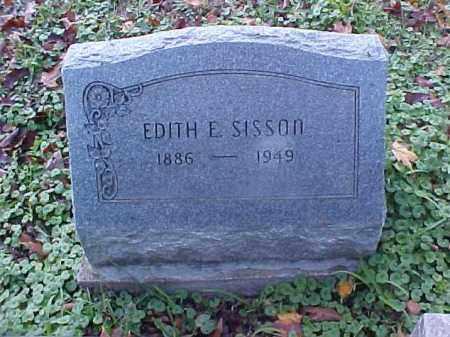 SISSON, EDITH E. - Meigs County, Ohio   EDITH E. SISSON - Ohio Gravestone Photos