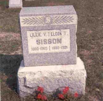 MARK SISSON, LILLIE V. - Meigs County, Ohio | LILLIE V. MARK SISSON - Ohio Gravestone Photos