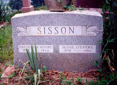 SISSON, FREDERICK MOORE - Meigs County, Ohio | FREDERICK MOORE SISSON - Ohio Gravestone Photos