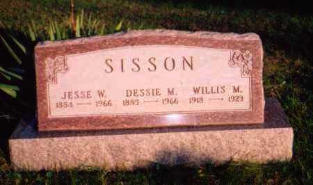 SISSON, WILLIS M. - Meigs County, Ohio | WILLIS M. SISSON - Ohio Gravestone Photos