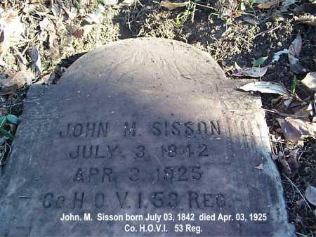 SISSON, JOHN - Meigs County, Ohio | JOHN SISSON - Ohio Gravestone Photos
