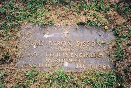 SISSON, LEO - Meigs County, Ohio | LEO SISSON - Ohio Gravestone Photos