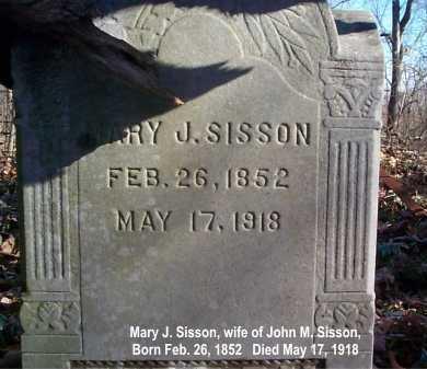 SISSON, MARY - Meigs County, Ohio | MARY SISSON - Ohio Gravestone Photos