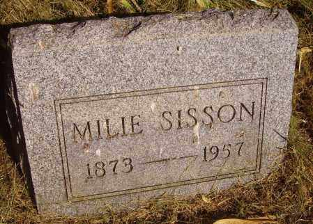 SISSON, MILIE - Meigs County, Ohio | MILIE SISSON - Ohio Gravestone Photos
