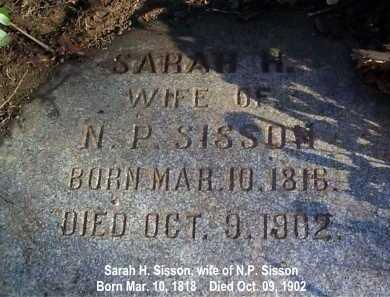 SISSON, SARAH - Meigs County, Ohio | SARAH SISSON - Ohio Gravestone Photos