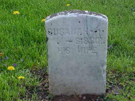 SISSON, SUSANNAH - Meigs County, Ohio   SUSANNAH SISSON - Ohio Gravestone Photos