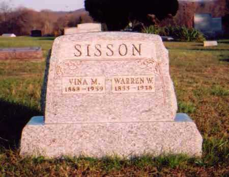 SISSON, VINA M. - Meigs County, Ohio | VINA M. SISSON - Ohio Gravestone Photos
