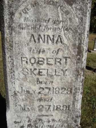 SKELLY, ANNA - CLOSE VIEW - Meigs County, Ohio | ANNA - CLOSE VIEW SKELLY - Ohio Gravestone Photos