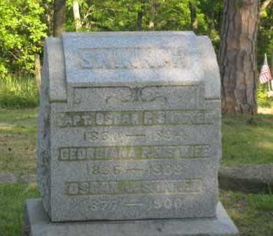 SKINNER, OSCAR J - Meigs County, Ohio | OSCAR J SKINNER - Ohio Gravestone Photos
