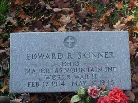 SKINNER, EDWARD R. - Meigs County, Ohio   EDWARD R. SKINNER - Ohio Gravestone Photos